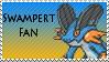 Swampert Fan Stamp by rossmallo