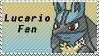 Lucario Fan Stamp