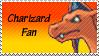 Charizard Fan Stamp by rossmallo