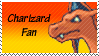 Charizard Fan Stamp by rossmallo