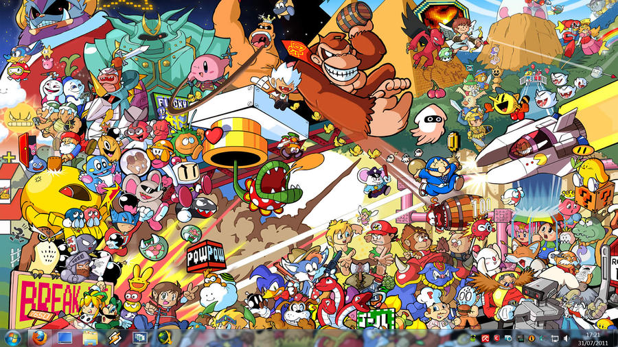 Retro game characters by kensirou on deviantart retro game characters by kensirou voltagebd Gallery