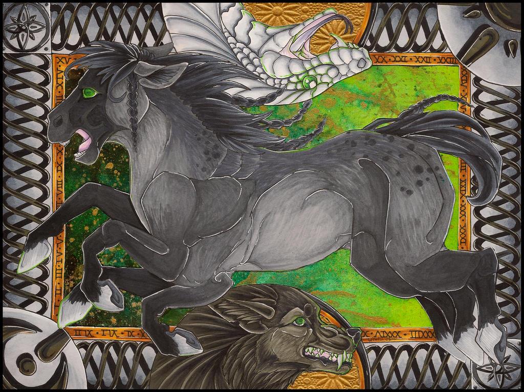Ragnarok by awaicu