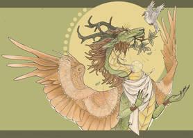 Sunlit Serenade by awaicu