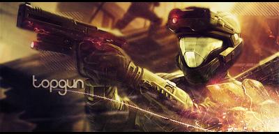 'The Battle Continues' - Halo Signature by Topgun-GFX