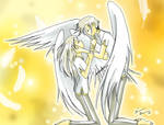 The Angels embrace