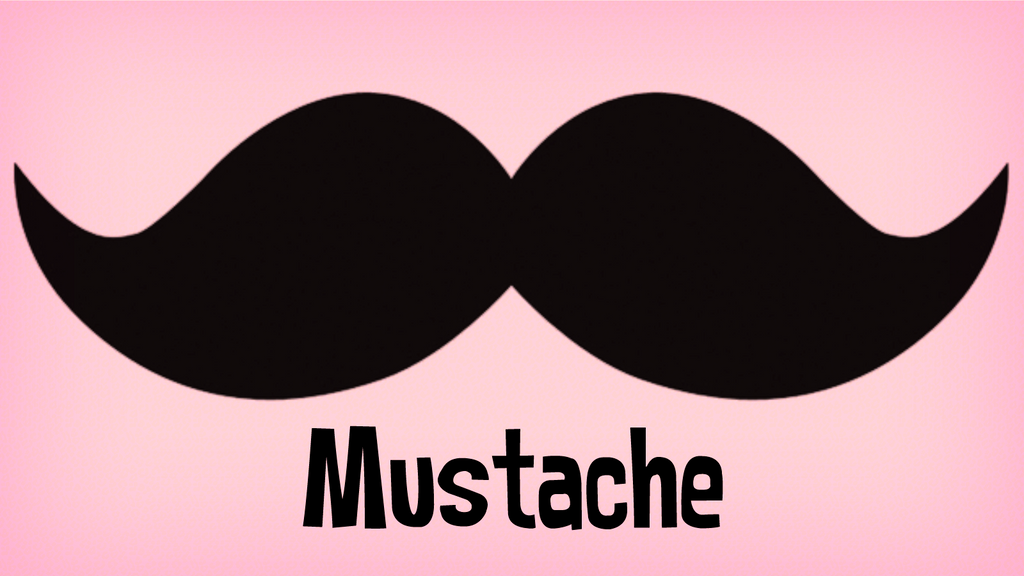 gallery for blue mustache backgrounds
