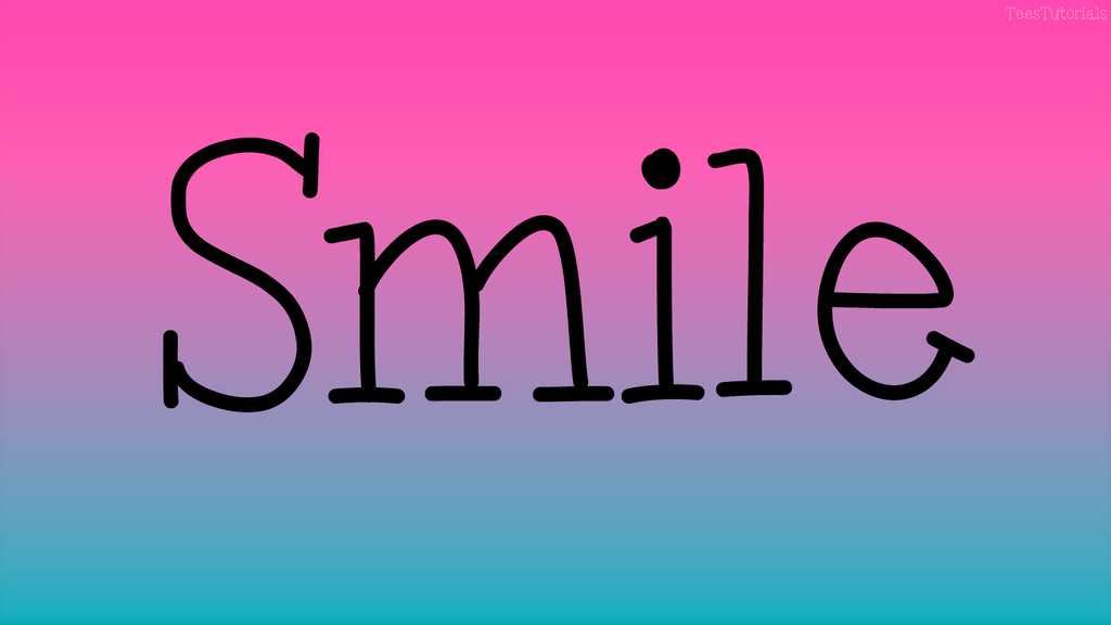 Wallpaper smile by teestutorials on deviantart for Smile templates