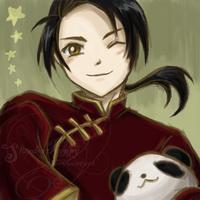 Hetalia:PeoplesRepublicOfChina by SlumberPoppy
