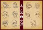 BEYBLADE - Kinomiya x Hiwatari clans