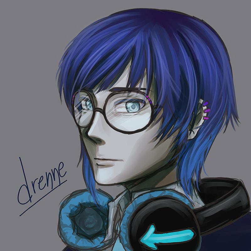 DrenneFIN by SlumberPoppy