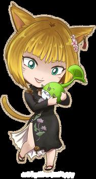 FFXIV - Melantra K'tari Baby Sprout!
