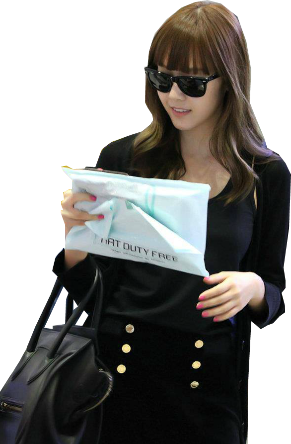 Jessica Snsd Fashion Airport Png By Hasnasone On Deviantart