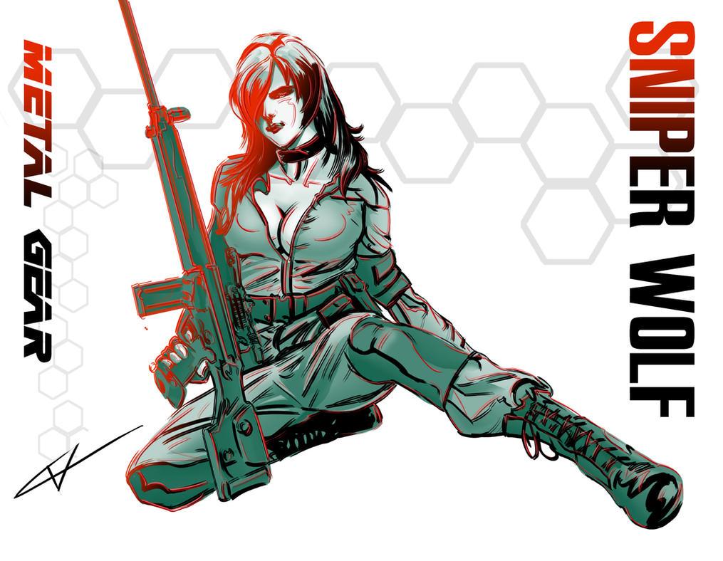 Sniper Wolf by InfiniteImpactBro