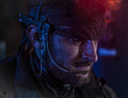 Solid Snake Cosplay 1