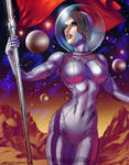 Space Maiden from Mars