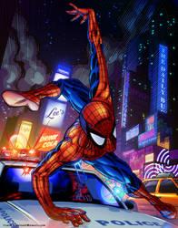 Spider-man by tylercairnsart