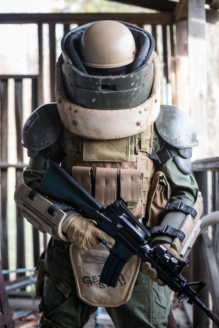 COD Juggernaut Cosplay 2 by tylercairnsart