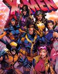 90's X-Men by tylercairnsart