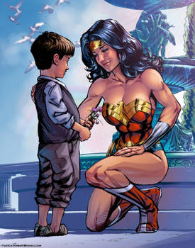 For Tomorrow: Wonder Woman