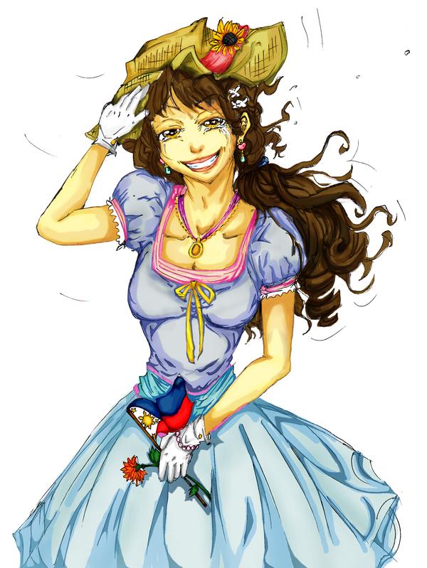 Piri-chan: Pre-Independance Day FanArt by YeLLowSuGArsTAR