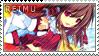 Reimu Hakurei stamp by Zerebos
