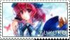 Yuyuko Saigyouji stamp by Zerebos