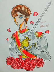 Prince Go with Rose BG  by julikatsubasasta95