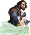 Thorin and Aeorn (COLOR)