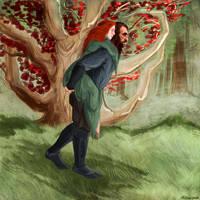 A Walk in the Godswoods by kallielef