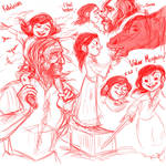 Arya and Father