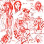 Sansa BAMF sketchdump