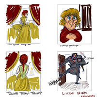 Lannister Wedding Redux by kallielef