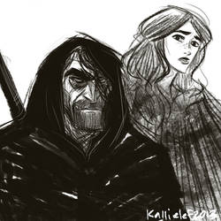 The Gravedigger and the Bastard by kallielef
