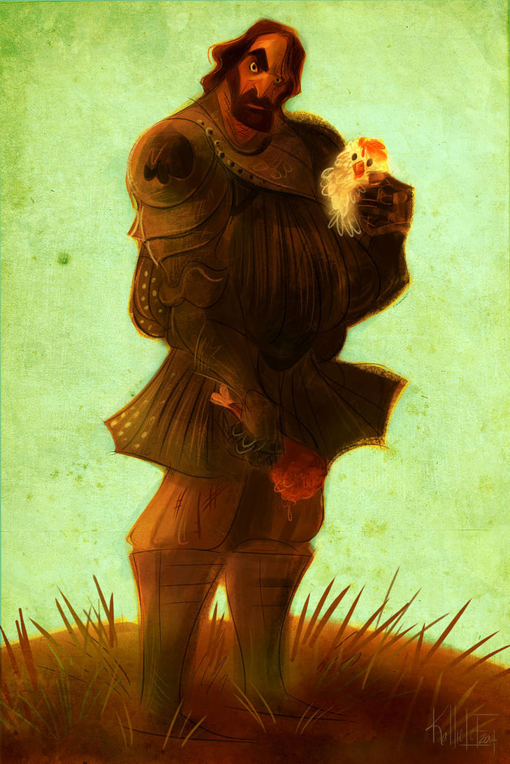 Sandor and Lommy by kallielef