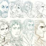 Color Challenge Sketches pt.1