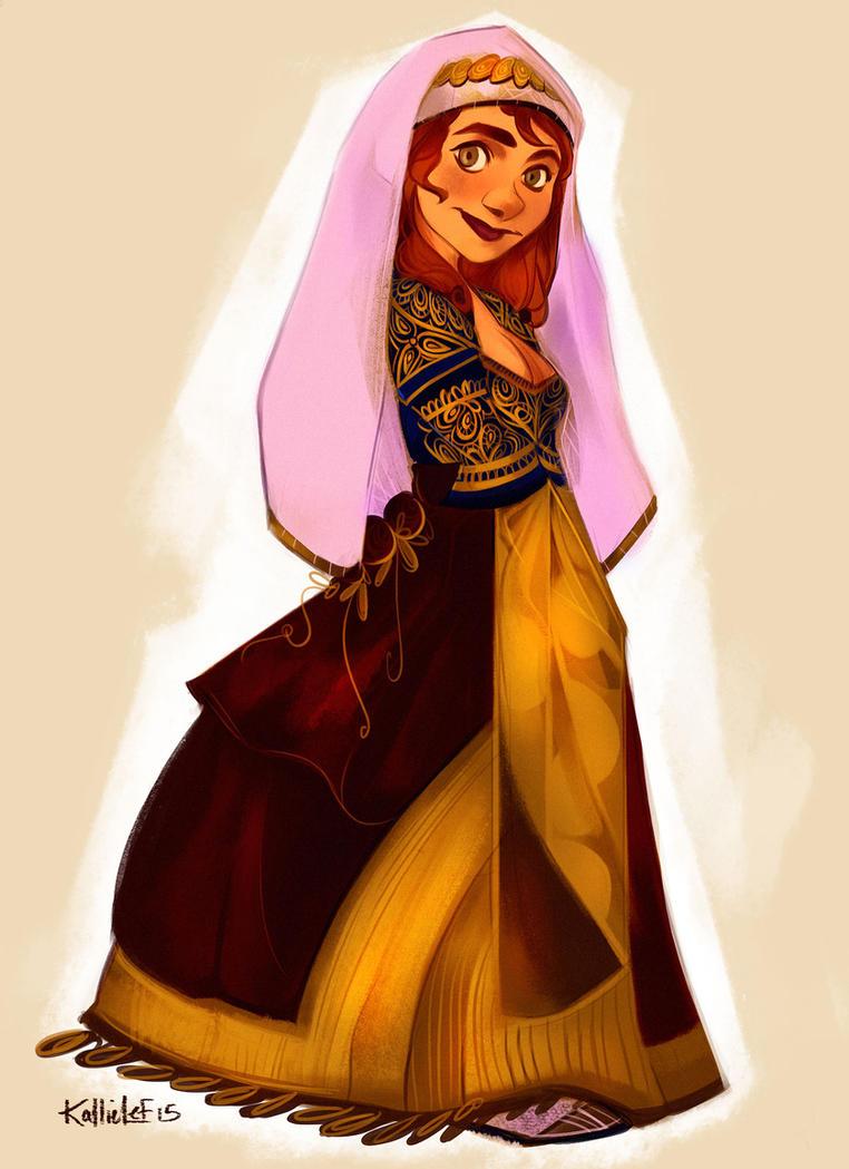Fem Bilbo Wedding Dress By Kallielef On Deviantart