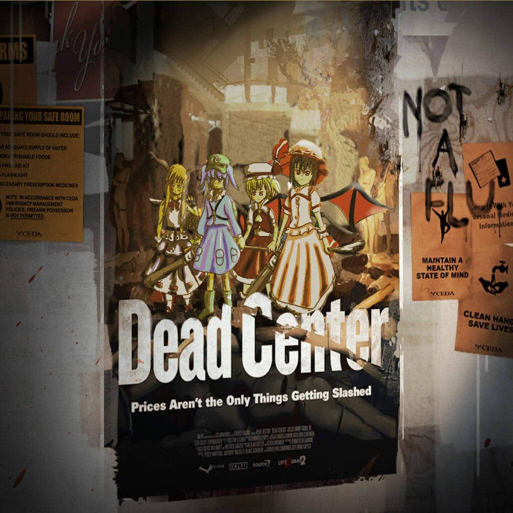 Touhou Mod Parody of Left 4 Dead 2's Dead Center by