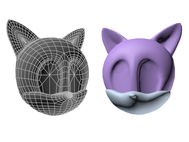 Template Reworking - Sonic Character Head by Handepsilon