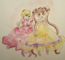 Peach and Giulia