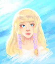 Zelda Doodle