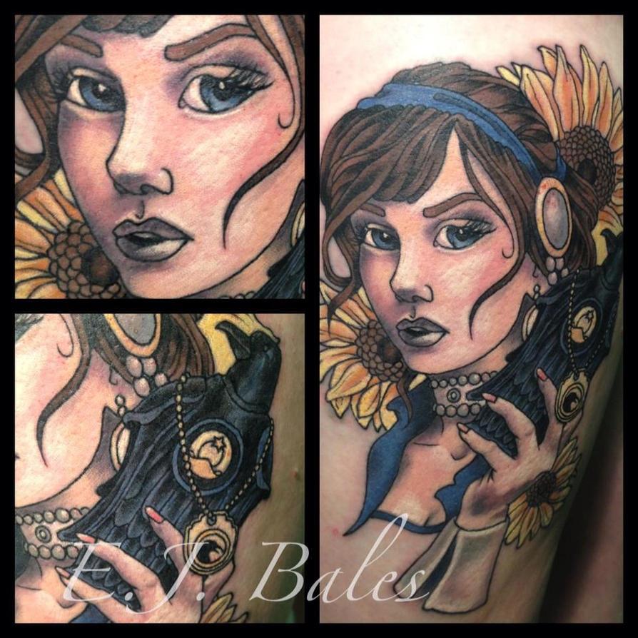 elizabeth from bioshock infinite tattoo by harley88quinn on deviantart. Black Bedroom Furniture Sets. Home Design Ideas