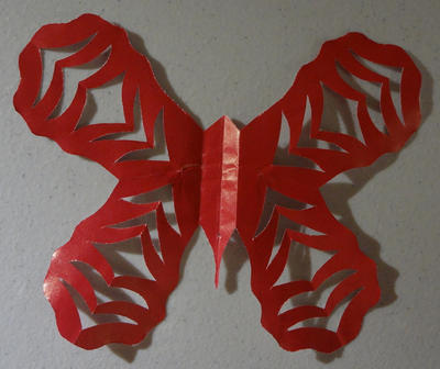 Tiger Striped Butterfly by moonphases