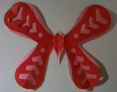Butterfly Valentine by moonphases