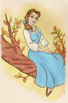 Belle on a Branch