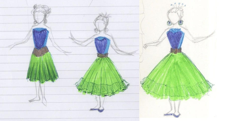 Peacock Feather Dress Designs by sahadlich90 on deviantART