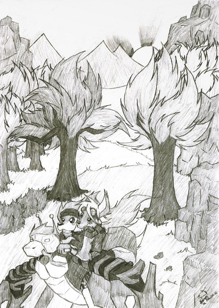 Robo Ride by Minas-the-Inkwolf