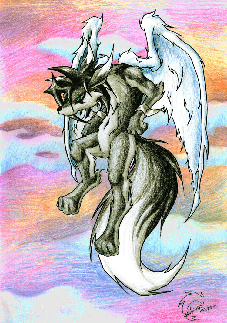 San with Wings by Minas-the-Inkwolf