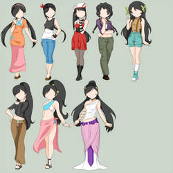 Maggie Pokemon Outfits