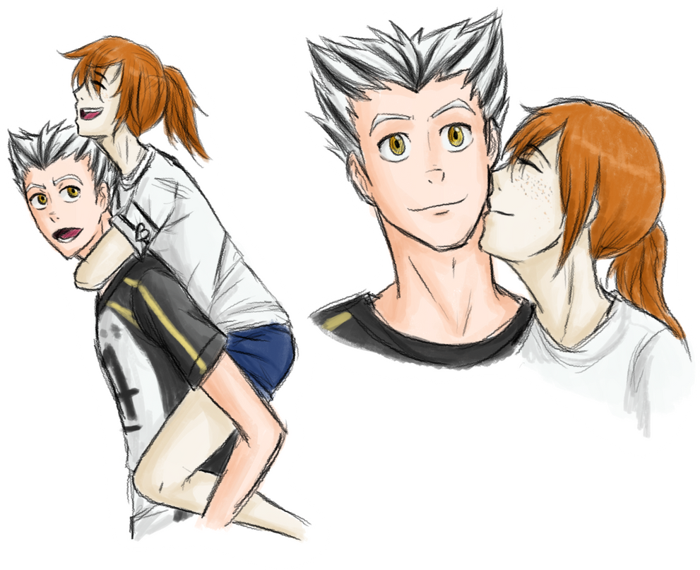 Bokutory Sketches by glorypaintGR