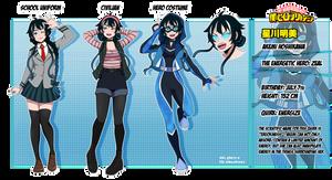 [BnHA] Akemi Character Sheet (C)